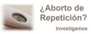 Aborto de repetición